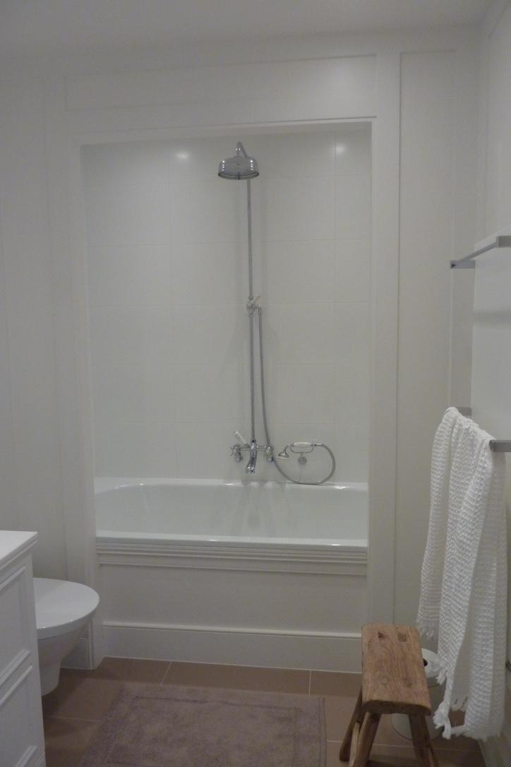 bain douche en niche