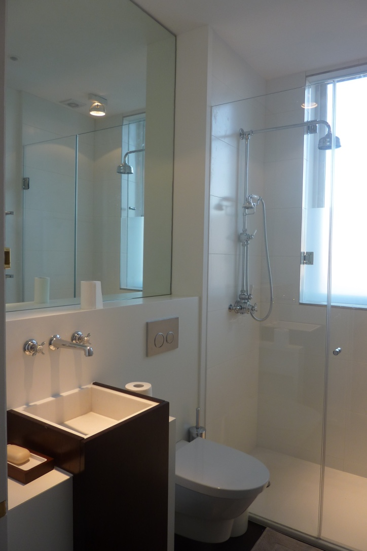 london salle de bain minimaliste