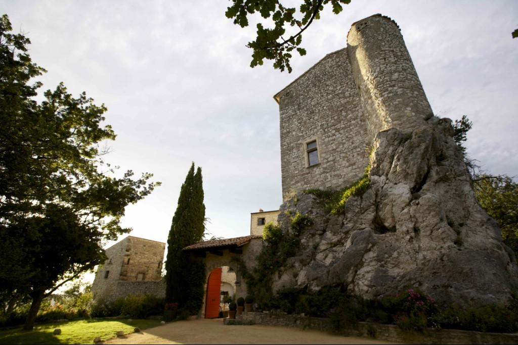 la vieille tour du chateau